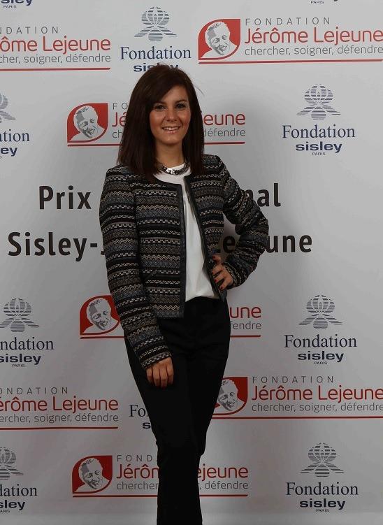 Prix Jeune Chercheur Jerome Lejeune 2013 Elisabetta Aloisi