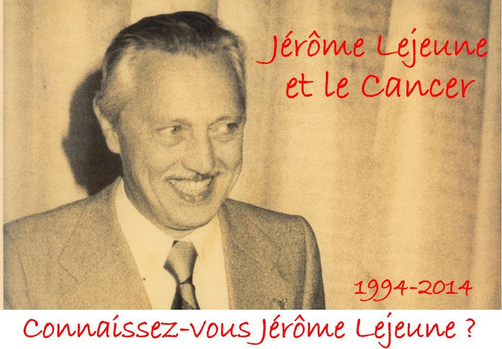 Jerome Lejeune et le Cancer