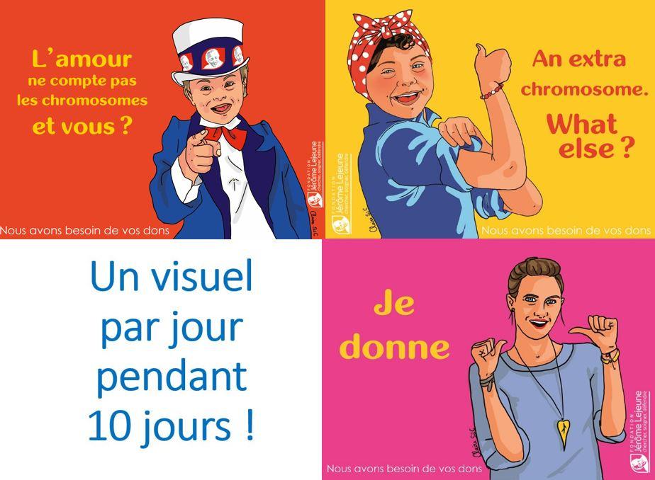 Campagne Trisomie CP