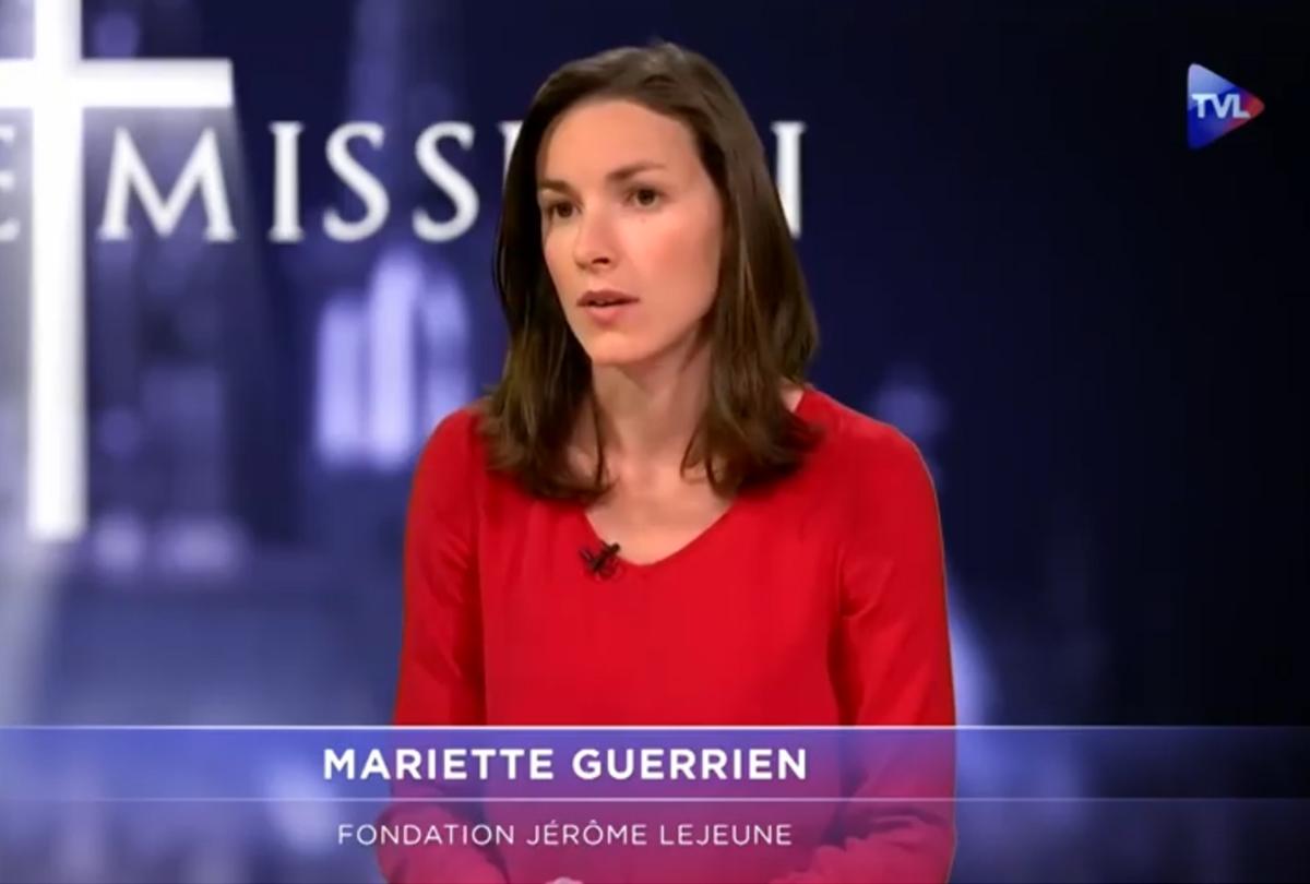 Mariette Guerrien, juriste à la fondation Jérôme Lejeune, fait le point sur la PMA et ses implications éthiques, sur TV Libertés.